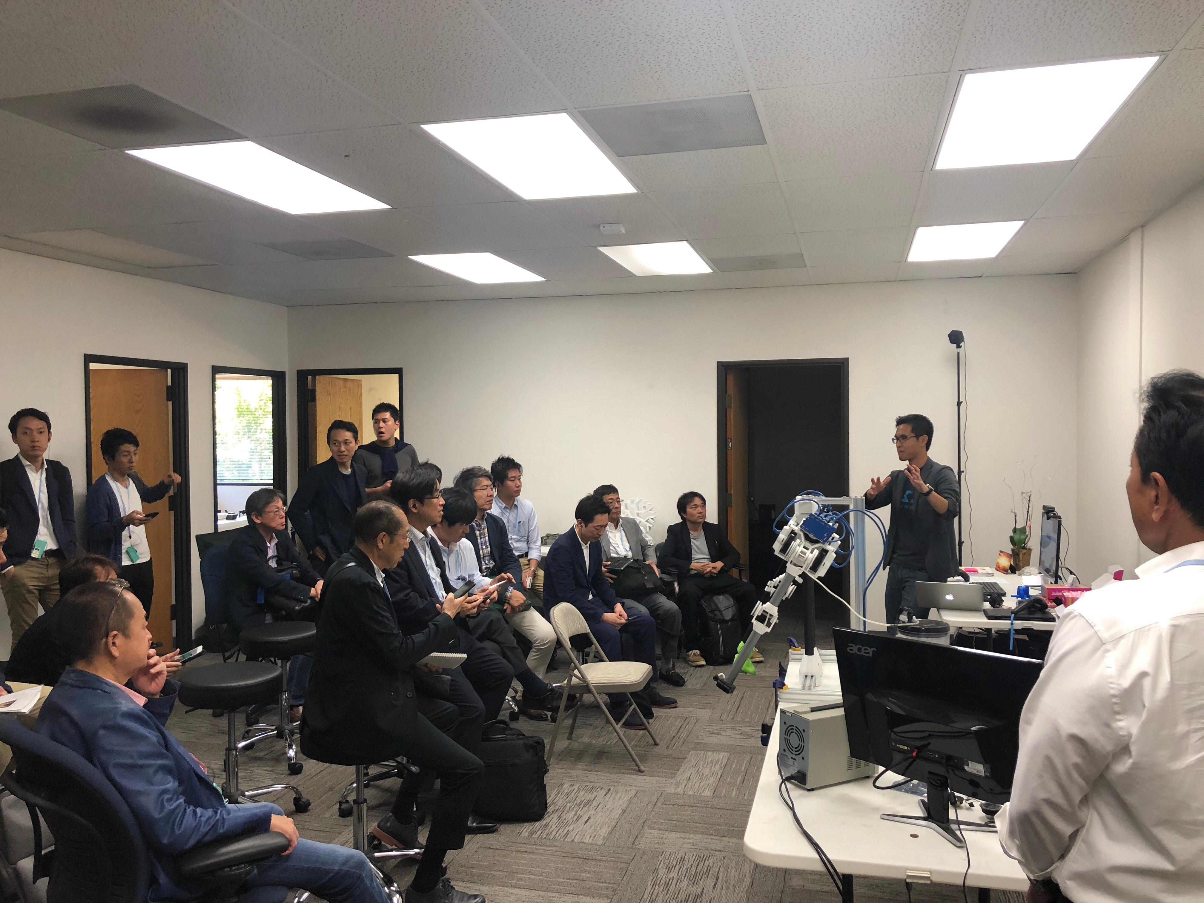 OhmniLabs - Japan Management Delegation Consultants Association - JMCA - Arm
