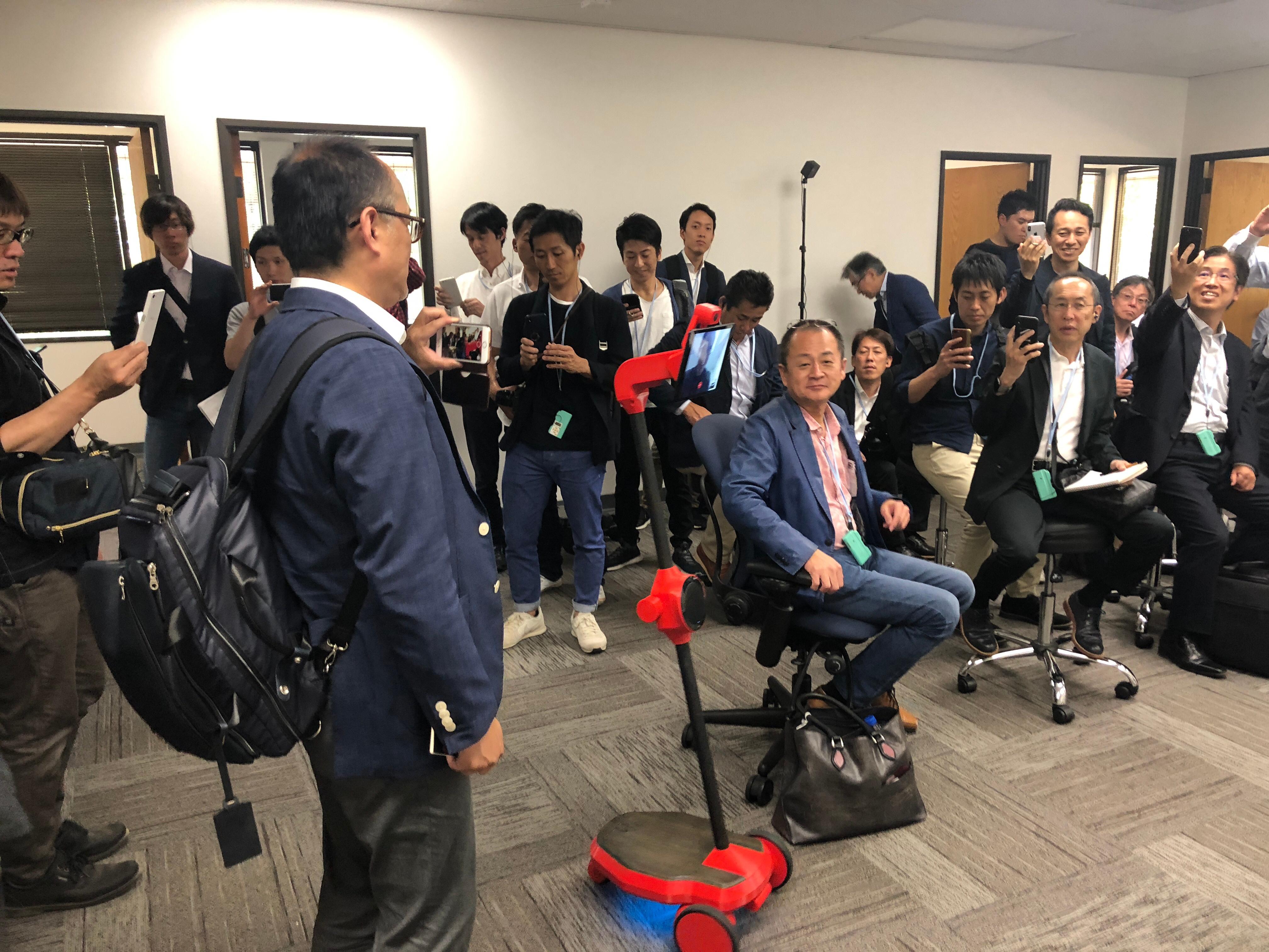 OhmniLabs - Japan Management Delegation Consultants Association - JMCA - Ohmni Bot