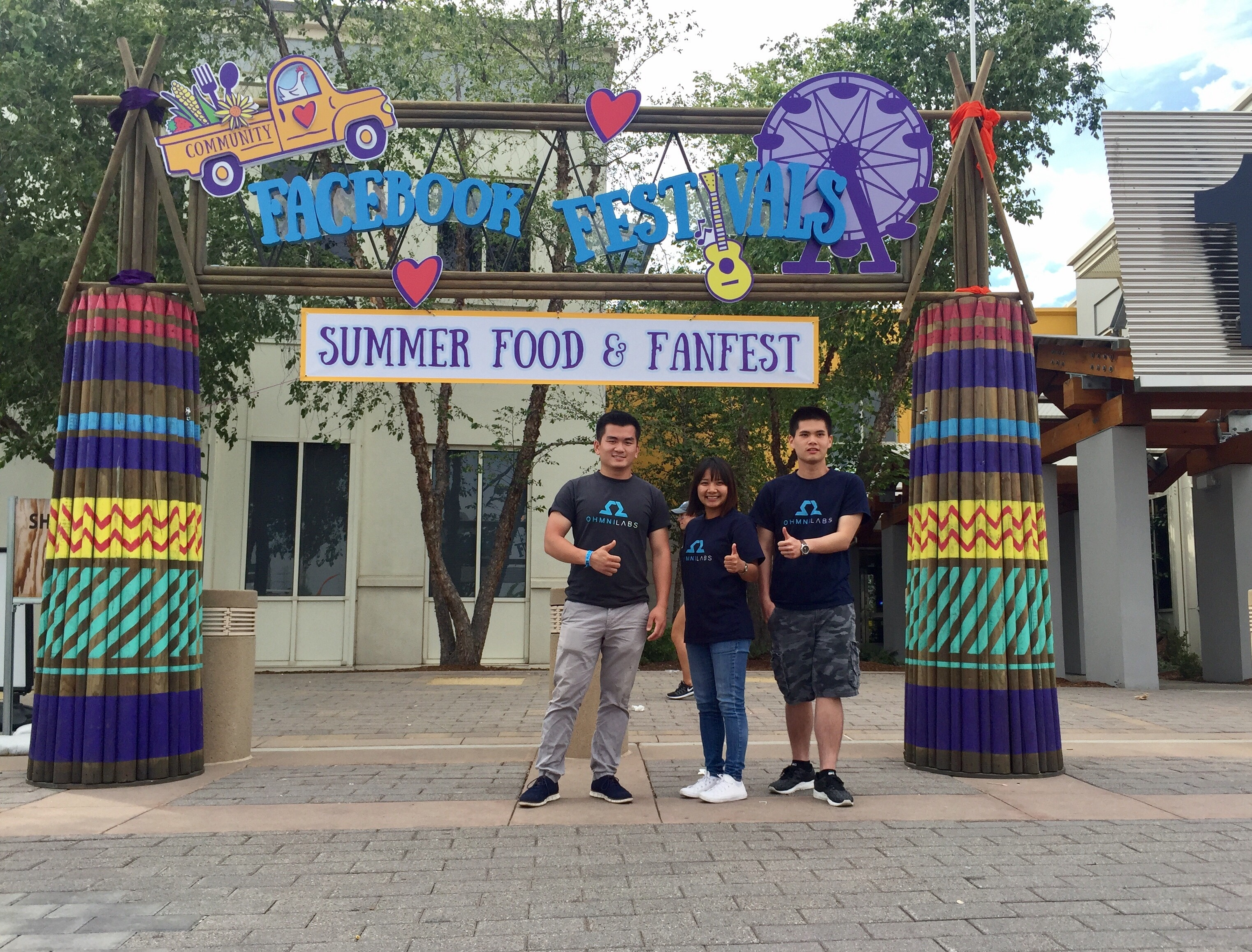 Ushering in Summer with Family and Robotics at Facebook's Summer Food & FanFest